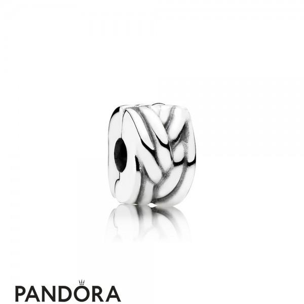 Pandora Clips Charms Braided Clip