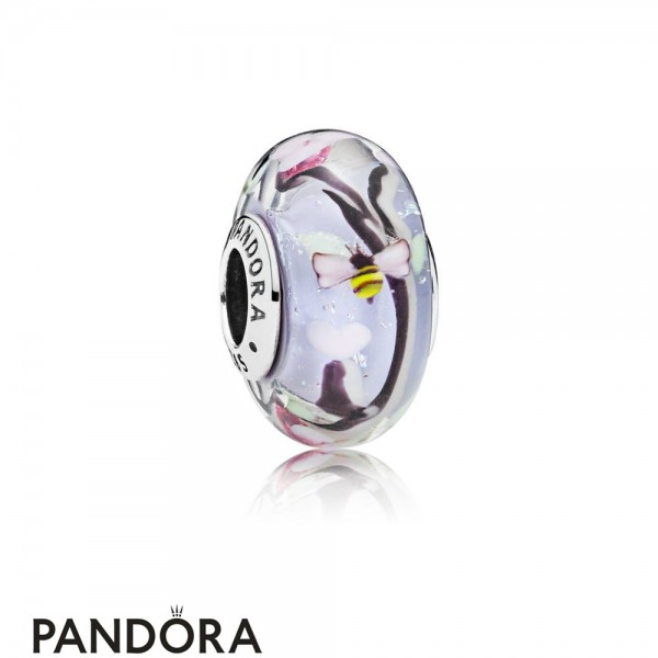 Pandora Jewelry Enchanted Garden Murano Glass Charm