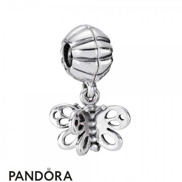 Pandora Pendant Charms Best Friends Forever Butterfly Two Part Charm