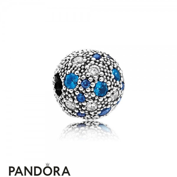 Pandora Sparkling Paves Charms Cosmic Stars Multi Colored Crystals