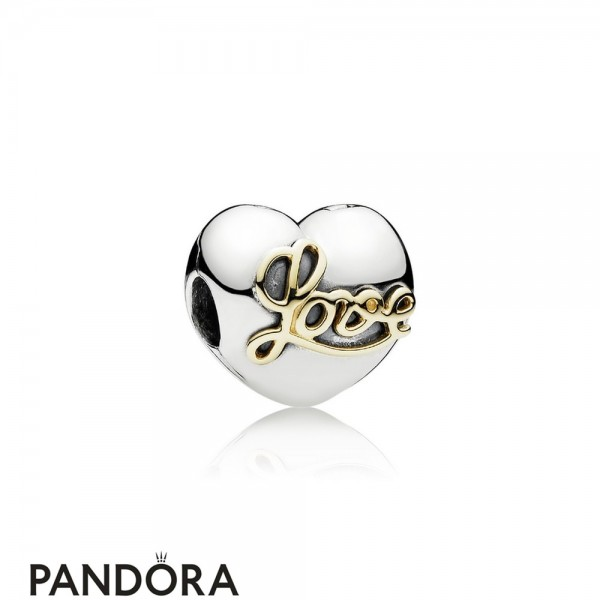 Pandora Sparkling Paves Charms Heart Of Love Clip