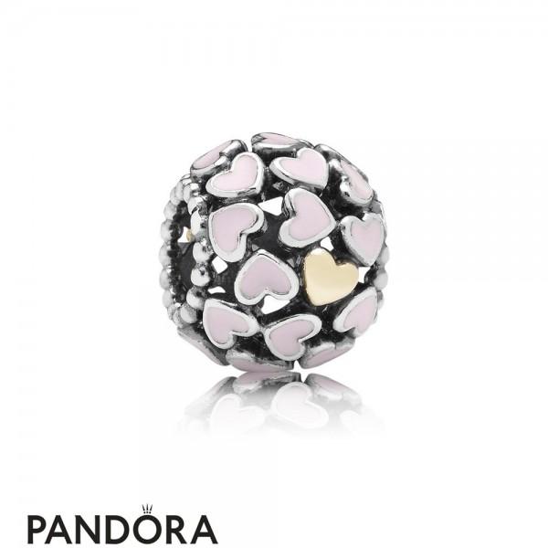 Pandora Symbols Of Love Charms Abundance Of Love Charm Pink Enamel