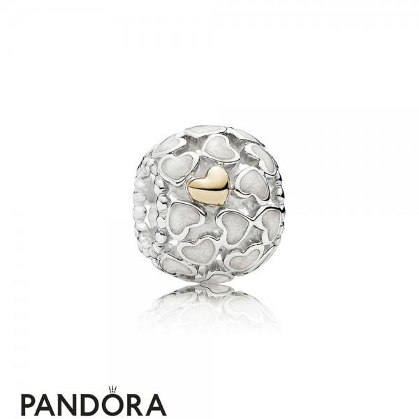 Pandora Symbols Of Love Charms Abundance Of Love Charm Silver Enamel