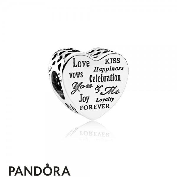 Pandora Symbols Of Love Charms Celebration Heart Charm