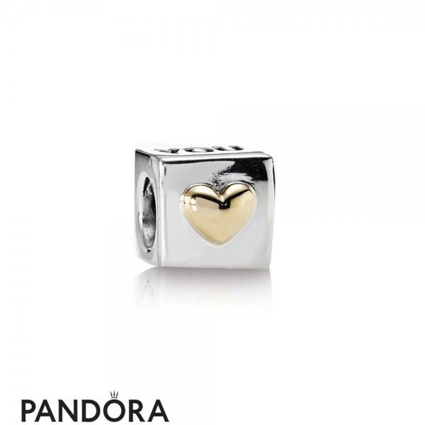 Pandora Symbols Of Love Charms I Love You Engraved Heart Box Charm