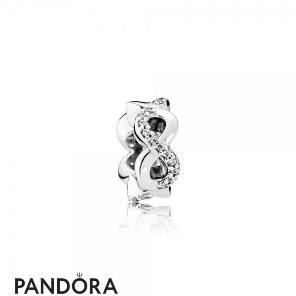 Pandora Symbols Of Love Charms Infinite Love Clear Cz