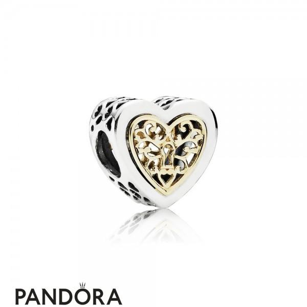 Pandora Symbols Of Love Charms Locked Hearts Charm