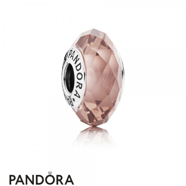 Pandora Touch Of Color Charms Fascinating Blush Charm Blush Pink Crystal