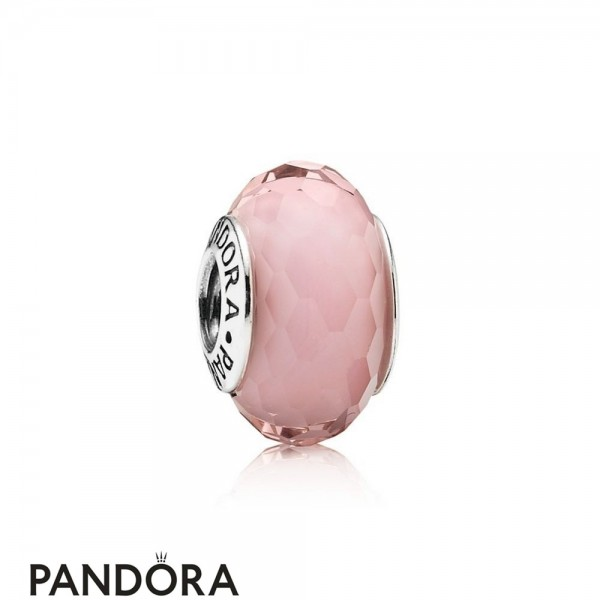 Pandora Touch Of Color Charms Fascinating Pink Charm Murano Glass