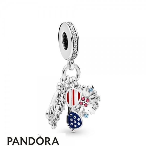 Women's Pandora American Icons Dangle Charm