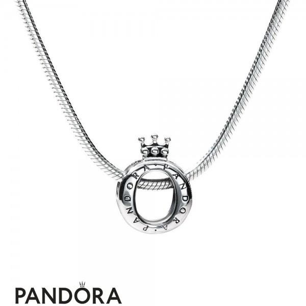Pandora Crown Necklace Set