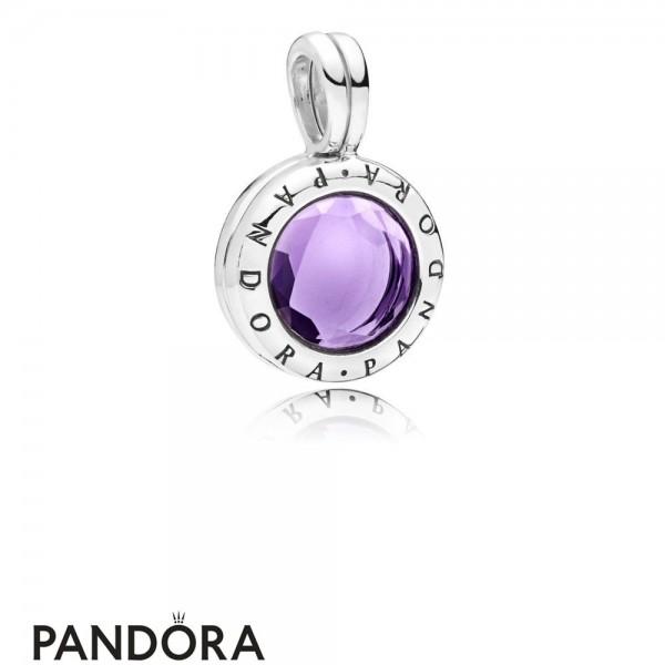 Pandora Faceted Floating Locket Hanging Charm