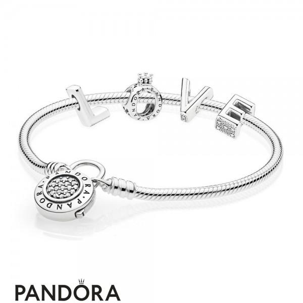 Pandora Lock Your Love Bracelet Gift Set