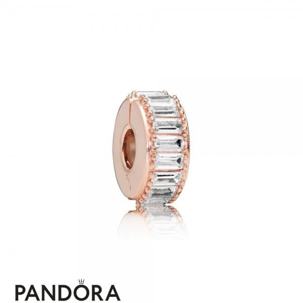Pandora Rose Ice Formation Clip