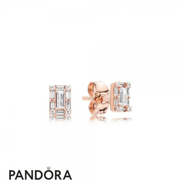 Pandora Rose Luminous Ice Earring Studs