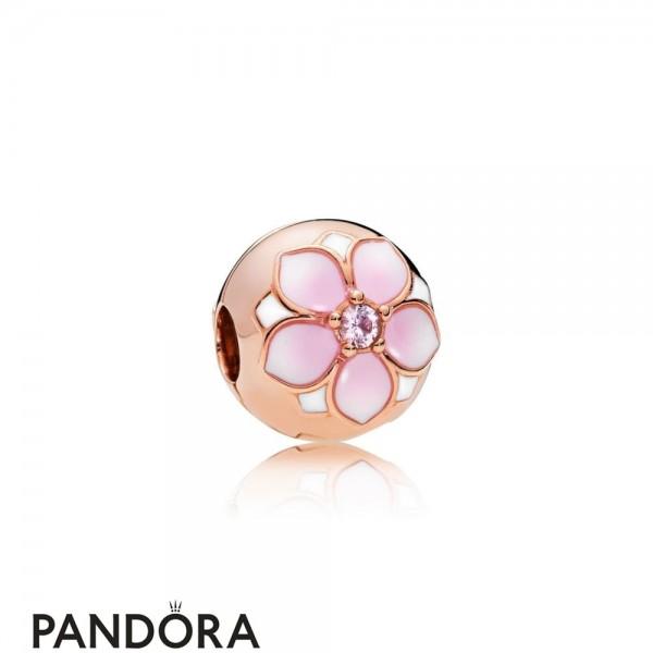 Pandora Jewelry Rose Magnolia Bloom Clip