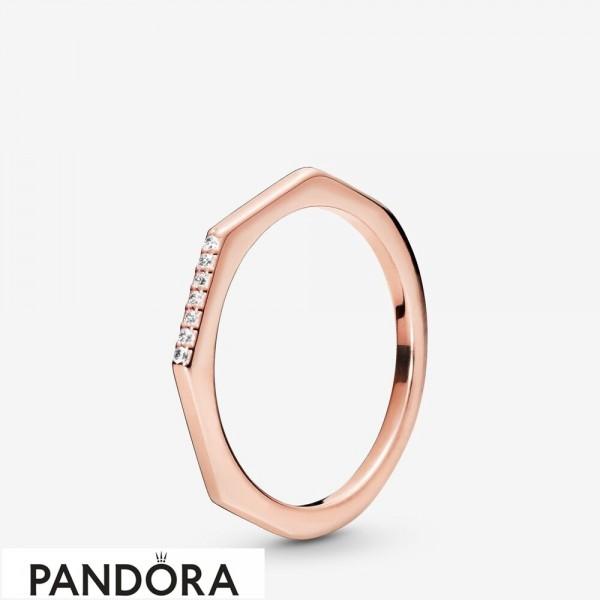 Pandora Rose Multifaceted Ring