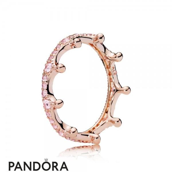 Pandora Rose Pink Enchanted Crown Ring