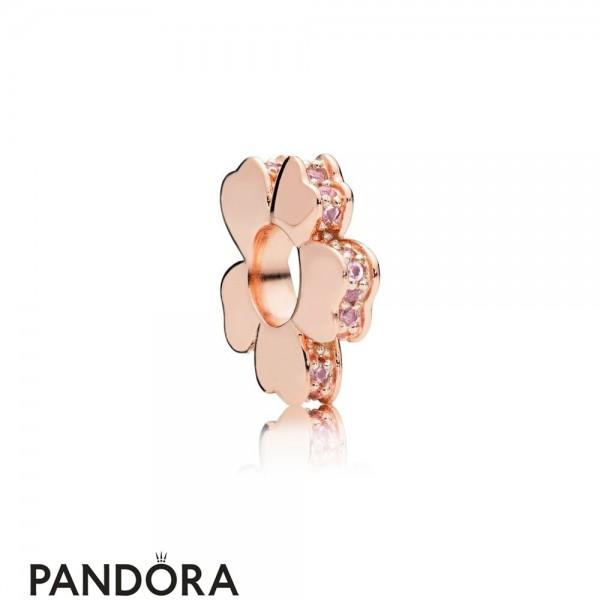 Jewelry Pandora Rose Wildflower Meadow Spacer Charm