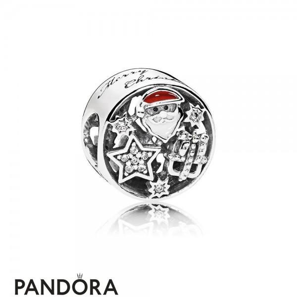 Pandora Winter Collection Christmas Joy Charm Mixed Enamel
