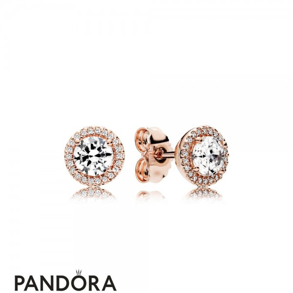 Pandora Winter Collection Classic Elegance Stud Earrings Pandora Rose