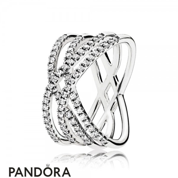 Pandora Winter Collection Cosmic Lines Ring